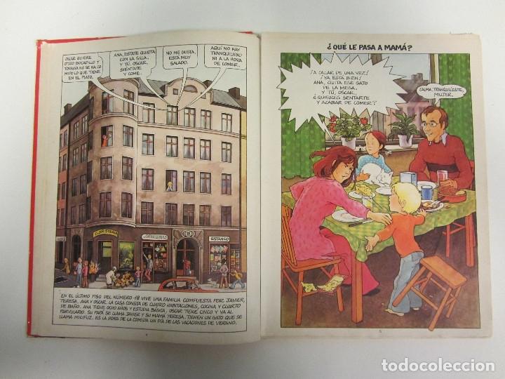Libros de segunda mano: Va a nacer un bebé. Ana, Oscar y Carlota. Un libro sobre convivencia. Ed. Junior 1981. Tapa dura. - Foto 5 - 254777395