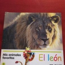 Libros de segunda mano: EL LEÓN (MIS ANIMALES FAVORITOS / EL PAIS). Lote 175128588