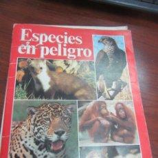 Libros de segunda mano: ESPECIES EN PELIGRO. L.5798-780. Lote 175130074