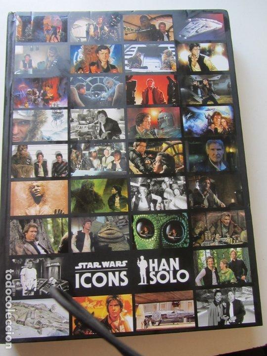 Libros de segunda mano: STAR WARS ICONS HAN SOLO CX22 - Foto 14 - 175146375