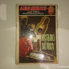 Libros de segunda mano: ALFRED HITCHCOCK Y LOS TRES INVESTIGADORES MISTERIO DE LA MOMIA Nº 3, LEER DESCIPCION. Lote 175179458