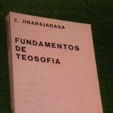 Libros de segunda mano: FUNDAMENTOS DE TEOSOFIA, DE C.JINARAJADASA - KIER 2A.ED. 1976. Lote 175204207