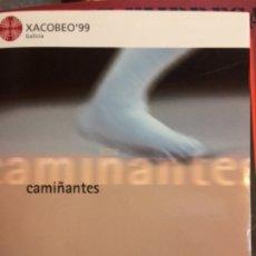 Libros de segunda mano: CAMIÑANTES. XACOBEO 99 GALICIA. IDIOMA GALLEGO. Lote 175214144