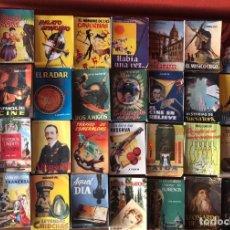 Libros de segunda mano: COLECCION PULGA. LOTE 36 LIBROS. PRINCIPIOS AÑOS 50. HISTORIA, BIOGRAFIA, CINE, TEATRO... Lote 175357165