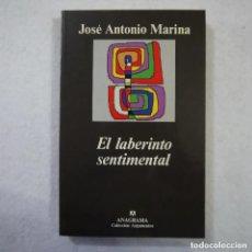 Libros de segunda mano: EL LABERINTO SENTIMENTAL - JOSÉ ANTONIO MARINA - ANAGRAMA - 1997. Lote 175431224