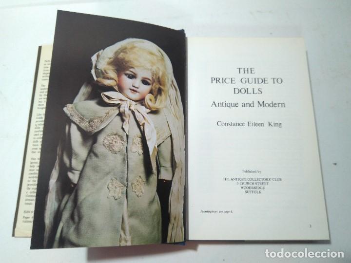 Libros de segunda mano: 1981. The price guide to dolls. Antique and Modern. Constance Eileen King. Inglaterra. 21.5x14cm - Foto 2 - 175503677