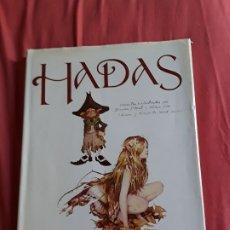 Libros de segunda mano: HADAS, DE BRIAN FROND Y ALAN LEE. MONTENA, 2003. BELLAMENTE ILUSTRADO. TROLLS, DUENDES, TRASGOS.. Lote 175365947