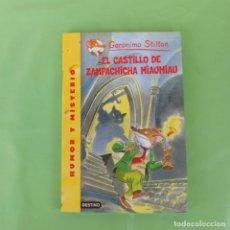 Libros de segunda mano: EL CASTILLO DE ZAMPACHICHA MIAUMIAU - GERONIMO STILTON. DESTINO,. Lote 175573553