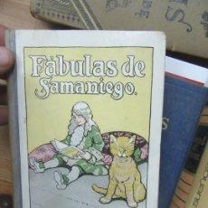 Libros de segunda mano: FÁBULAS DE SAMANIEGO, EDIC. MINERVA. L.17332-216. Lote 175575998