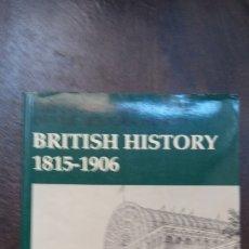 Libros de segunda mano: NORMAN MCCORD: BRITISH HISTORY, 1815-1960. Lote 175587598