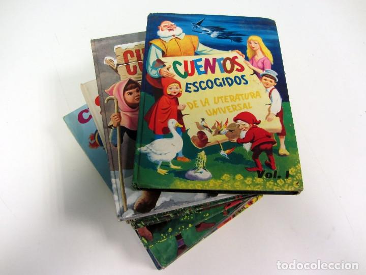 CUENTOS ESCOGIDOS. VOL. 2,3,5,6,8,9,15 Y 18. ED. SUSAETA. TAPA DURA. ILUSTRADOS (Libros de Segunda Mano - Literatura Infantil y Juvenil - Otros)