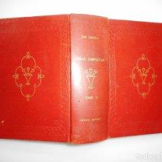 Libros de segunda mano: JOSÉ ZORRILLA OBRAS COMPLETAS. TOMO II Y95832. Lote 175590345