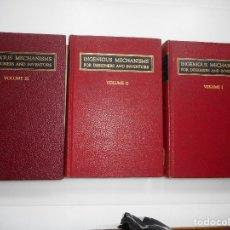 Libros de segunda mano: INGENIOUS MECHANISMS FOR DESIGNERS AND INVENTORS ( 3 TOMOS)(INGLÉS) Y95838. Lote 175590832