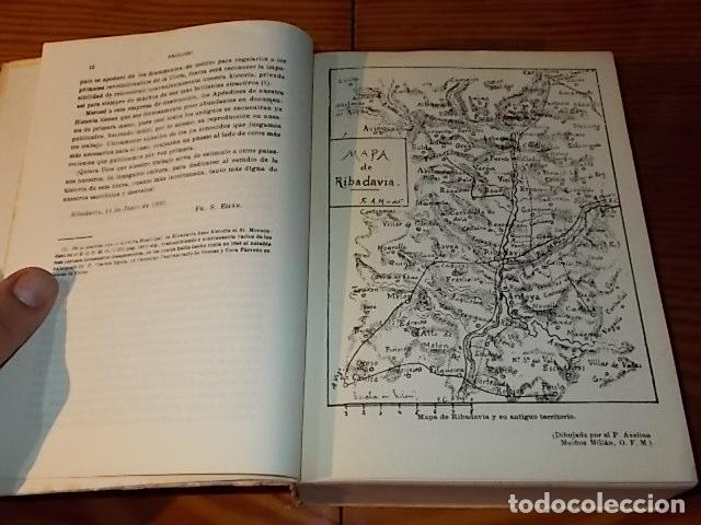 Libros de segunda mano: HISTORIA DE RIBADAVIA Y SUS ALREDEDORES . P. SAMUEL EIJÁN . EDICIÓN FACSÍMIL. 1981 . LUGO - Foto 4 - 218846118