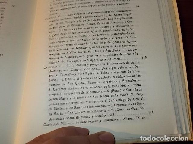 Libros de segunda mano: HISTORIA DE RIBADAVIA Y SUS ALREDEDORES . P. SAMUEL EIJÁN . EDICIÓN FACSÍMIL. 1981 . LUGO - Foto 18 - 218846118