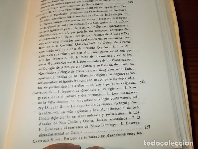 Libros de segunda mano: HISTORIA DE RIBADAVIA Y SUS ALREDEDORES . P. SAMUEL EIJÁN . EDICIÓN FACSÍMIL. 1981 . LUGO - Foto 22 - 218846118