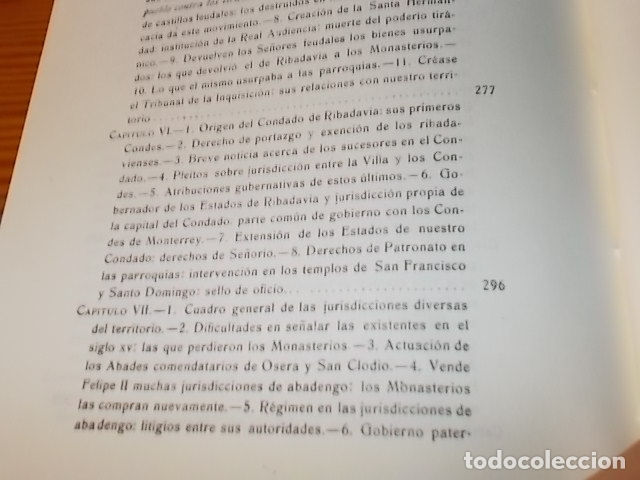 Libros de segunda mano: HISTORIA DE RIBADAVIA Y SUS ALREDEDORES . P. SAMUEL EIJÁN . EDICIÓN FACSÍMIL. 1981 . LUGO - Foto 24 - 218846118