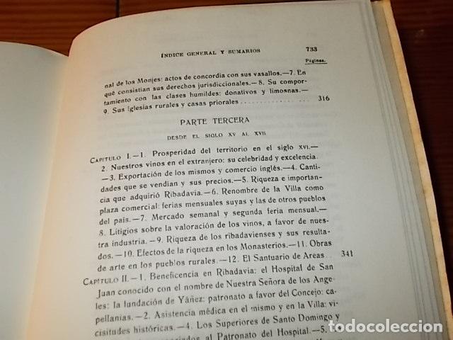 Libros de segunda mano: HISTORIA DE RIBADAVIA Y SUS ALREDEDORES . P. SAMUEL EIJÁN . EDICIÓN FACSÍMIL. 1981 . LUGO - Foto 25 - 218846118