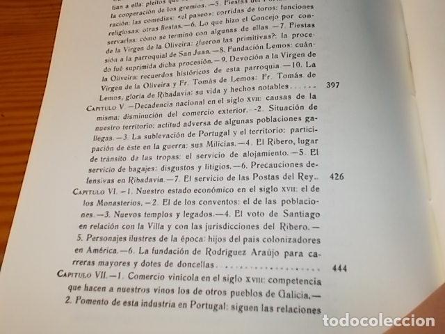 Libros de segunda mano: HISTORIA DE RIBADAVIA Y SUS ALREDEDORES . P. SAMUEL EIJÁN . EDICIÓN FACSÍMIL. 1981 . LUGO - Foto 28 - 218846118