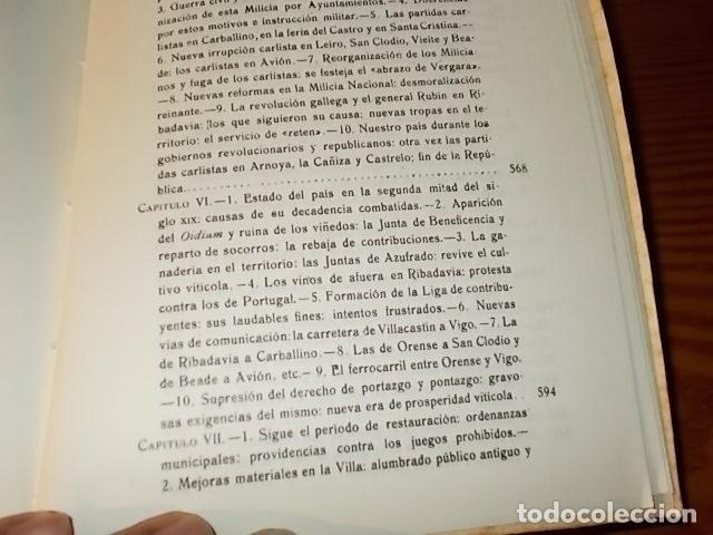 Libros de segunda mano: HISTORIA DE RIBADAVIA Y SUS ALREDEDORES . P. SAMUEL EIJÁN . EDICIÓN FACSÍMIL. 1981 . LUGO - Foto 34 - 218846118