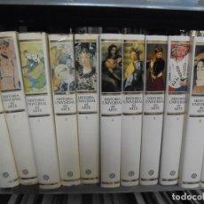 Libros de segunda mano: HISTORIA UNIVERSAL DEL ARTE.EDITORIAL PLANETA 1985-1995.10 TOMOS MAS TOMO ULTIMAS TENDENCIAS. Lote 175607459