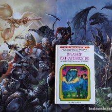 Libros de segunda mano: INVASIÓN EXTRATERRESTRE - N54 ELIGE TU PROPIA AVENTURA- CARTONÉ - LIBROJUEGO. Lote 175617948