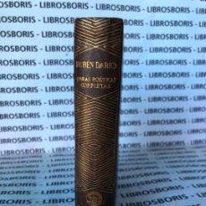 Libros de segunda mano: RUBEN DARIO - OBRAS POETICAS - AGUILAR - COLECCION JOYA. Lote 175631012