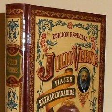 Libros de segunda mano: JULIO VERNE. VIAJES EXTRAORDINARIOS. ED. ESPECIAL. LA VUELTA AL MUNDO EN 80 DIAS. PRECINTADO.. Lote 175667057