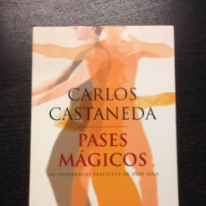 Libros de segunda mano: PASES MAGICOS, CASTANEDA, CARLOS, 2002. Lote 175673392
