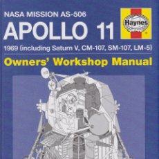 Libros de segunda mano: MANUAL HAYNES APOLLO 11 NASA 1969. Lote 175695632