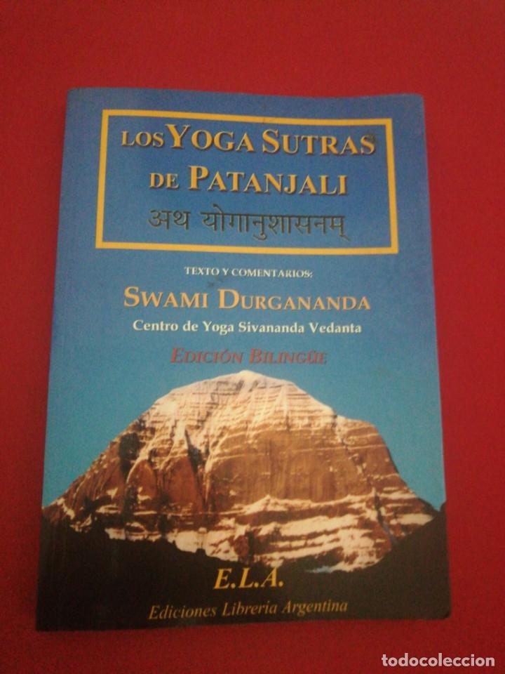 LOS YOGASUTRAS DE PATANJALI, SWAMI DURGANANDA (Libros de Segunda Mano - Pensamiento - Otros)