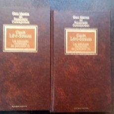 Libros de segunda mano: CLAUDE LÉVI-STRAUSS: LAS ESTRUCTURAS ELEMENTALES DEL PARENTESCO (2 TOMOS). Lote 175769354