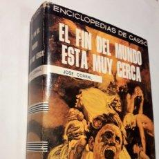 Libros de segunda mano: EL FIN DEL MUNDO ESTÁ MUY CERCA. (LAS PROFECÍAS DE LOS PAPAS). Lote 175815322