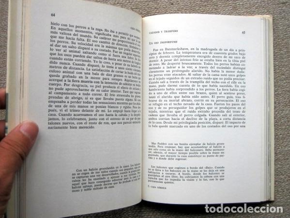 Libros de segunda mano: Caza nórdica. Cazador y trampero, de Finn Kristoffersen - Foto 3 - 175859990