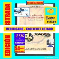 Libros de segunda mano: EL SEÑORIO EN LAS CANARIAS OCCIDENTALES - LA GOMERA Y EL HIERRO HASTA 1700 - GLORIA DÍAZ PADILLA. Lote 175875975