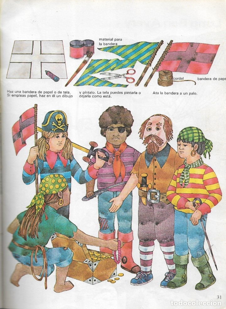 Libros de segunda mano: PIRATAS - COLECCIÓN LIBROS TEMA - CLIPER PLAZA & JANES - Barcelona, 1981. - Foto 5 - 175886005