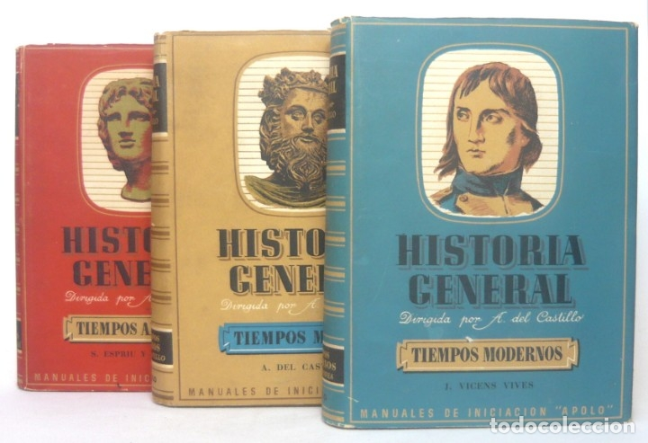 Libros de segunda mano: 1943 - Historia Universal - Completa - 3 Tomos - Mapas Desplegables - H.ª Antigua, Medieval, Moderna - Foto 3 - 175895155
