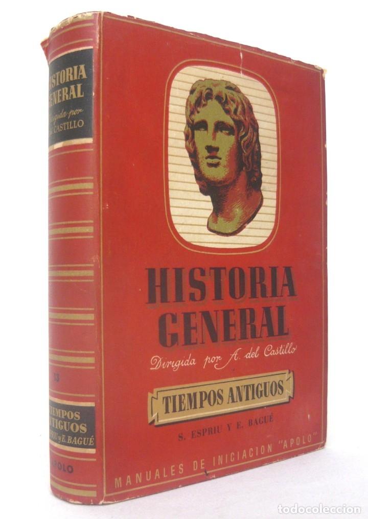 Libros de segunda mano: 1943 - Historia Universal - Completa - 3 Tomos - Mapas Desplegables - H.ª Antigua, Medieval, Moderna - Foto 4 - 175895155