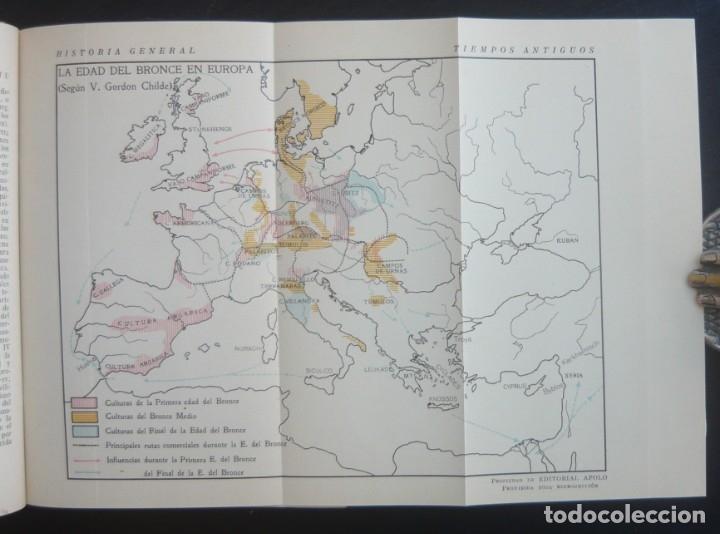 Libros de segunda mano: 1943 - Historia Universal - Completa - 3 Tomos - Mapas Desplegables - H.ª Antigua, Medieval, Moderna - Foto 7 - 175895155