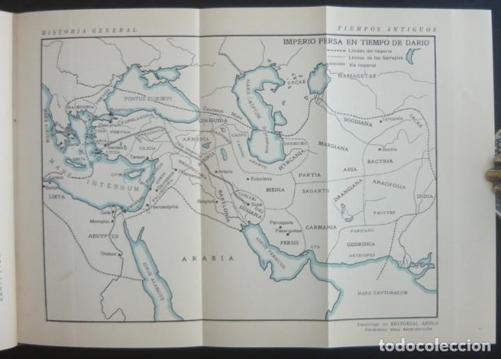 Libros de segunda mano: 1943 - Historia Universal - Completa - 3 Tomos - Mapas Desplegables - H.ª Antigua, Medieval, Moderna - Foto 8 - 175895155