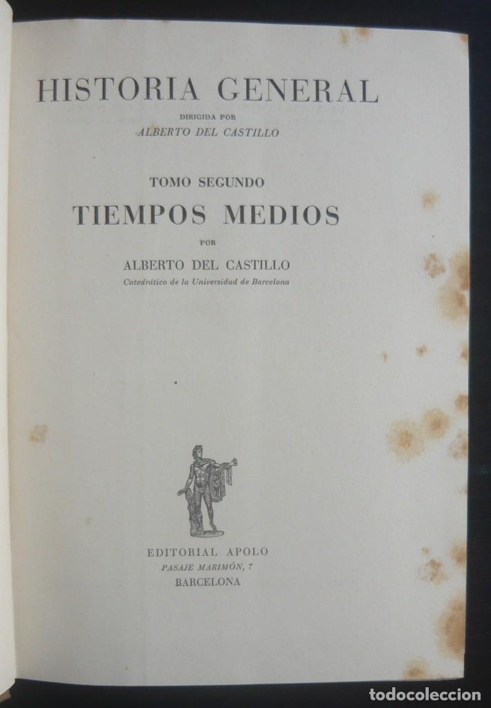 Libros de segunda mano: 1943 - Historia Universal - Completa - 3 Tomos - Mapas Desplegables - H.ª Antigua, Medieval, Moderna - Foto 12 - 175895155