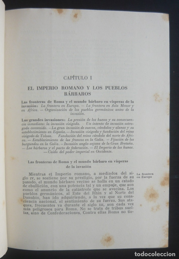 Libros de segunda mano: 1943 - Historia Universal - Completa - 3 Tomos - Mapas Desplegables - H.ª Antigua, Medieval, Moderna - Foto 13 - 175895155
