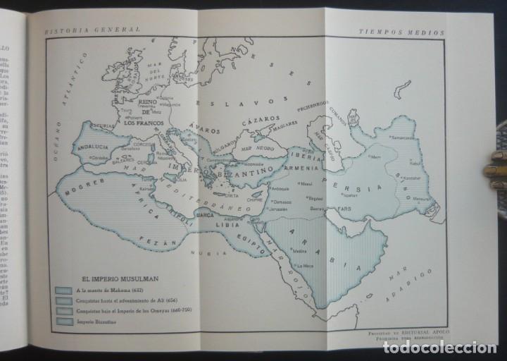 Libros de segunda mano: 1943 - Historia Universal - Completa - 3 Tomos - Mapas Desplegables - H.ª Antigua, Medieval, Moderna - Foto 15 - 175895155