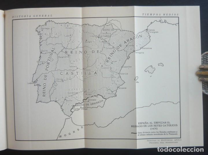 Libros de segunda mano: 1943 - Historia Universal - Completa - 3 Tomos - Mapas Desplegables - H.ª Antigua, Medieval, Moderna - Foto 17 - 175895155