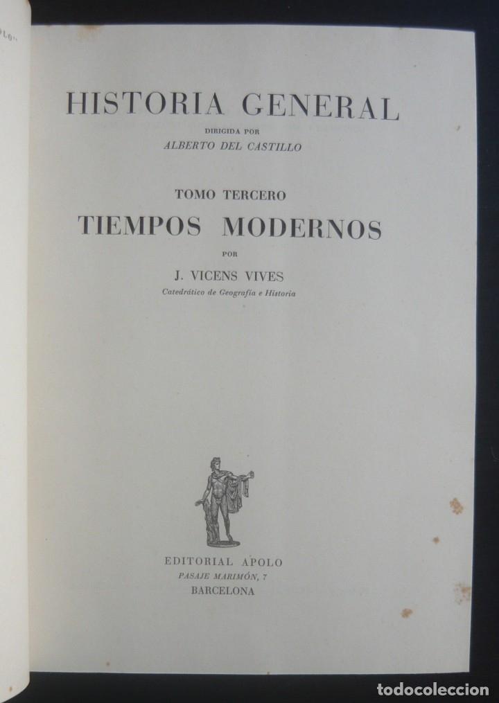 Libros de segunda mano: 1943 - Historia Universal - Completa - 3 Tomos - Mapas Desplegables - H.ª Antigua, Medieval, Moderna - Foto 19 - 175895155