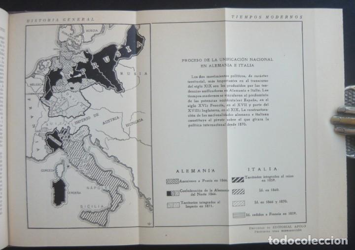 Libros de segunda mano: 1943 - Historia Universal - Completa - 3 Tomos - Mapas Desplegables - H.ª Antigua, Medieval, Moderna - Foto 24 - 175895155