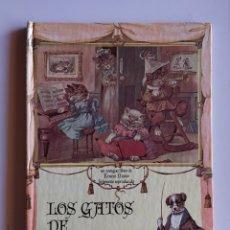Libros de segunda mano: (1981) LOS GATOS DE GATOLANDIA. LIBRO 3D POP UP. EDITORIAL MONTENA. CARTONÉ. Lote 175895755