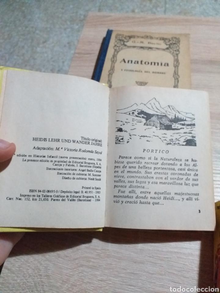 Libros de segunda mano: LIBRO ANATOMIA ,HEIDI Y LA INVASION - Foto 6 - 175929483