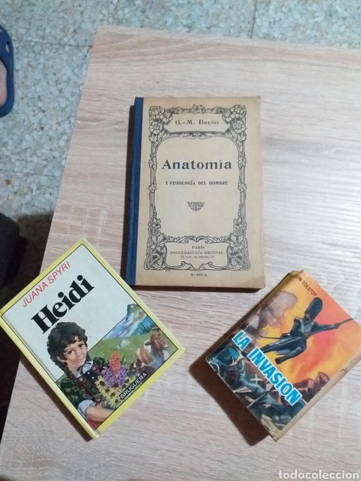 Libros de segunda mano: LIBRO ANATOMIA ,HEIDI Y LA INVASION - Foto 12 - 175929483