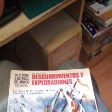 Libros de segunda mano: HISTORIA ILUSTRADA DEL MUNDO. DE 1450 A 1750. DESCUBRIMIENTOS Y EXPLORACIONES. PLESA/SM 1981. Lote 175929997